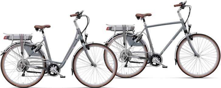 Batavus Mont Blanc Easy elektrische fiets dames / lage instap en heren model