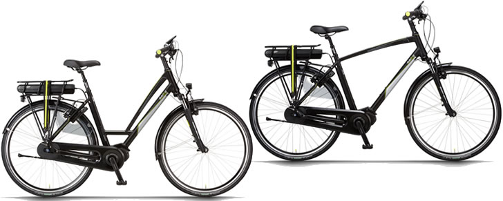 Dutch ID City N8Di2 elektrische fiets dames/lage instap en heren model