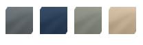 Afbeelding van de JOOLZ Day2 Earth kleuren Hippo Grey, Parrot blue, Elephant grey en Camel beige