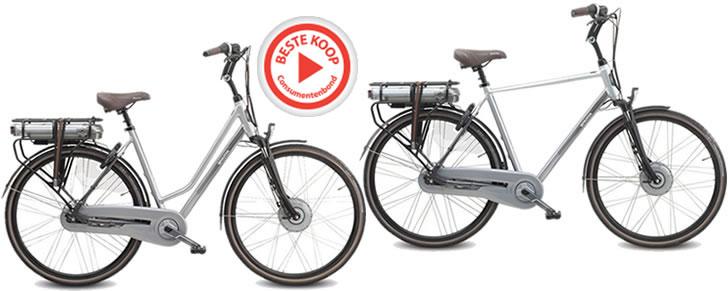 Sparta F8e Beste Koop Consumentenbond elektrische fiets dames lage instap en heren model