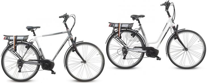 Sparta M10i elektrische fiets heren en lage instap dames model afbeelding