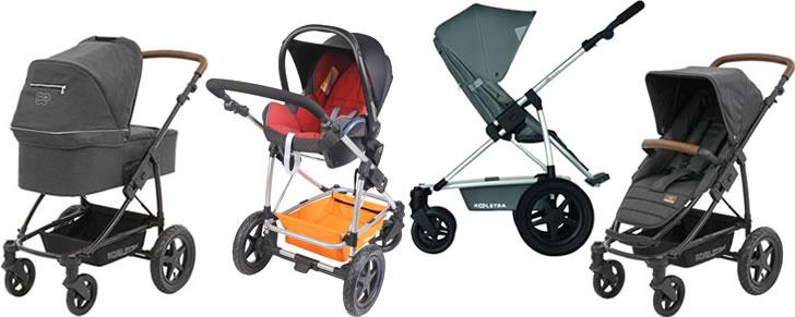 Afbeelding Koelstra Binque Daily in de Top 10 beste kinderwagens lijst
