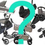 afbeelding keuze maken voor een nieuwe kinderwagen