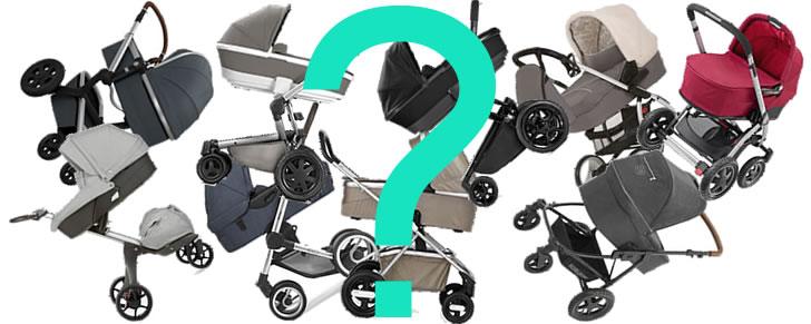 Hulp nodig bij het oriënteren op een nieuwe kinderwagen?