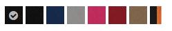 afbeelding met de kleuren van de Quinny Moodd kinderwagen