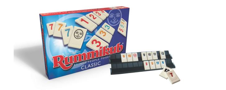 Doos en inhoud Rummikub Original Classic