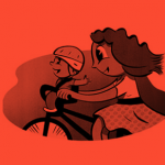 e-bikes waar een fietszitje voorop geplaatst kan worden