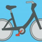 trapondersteuning op een elektrische fiets
