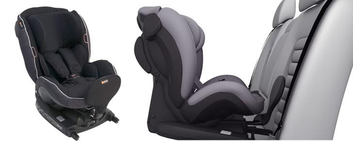 Voor- en zijaanzicht van de BeSafe iZi Kid X2 i-Size groep 1 in Top 10 Beste Autostoeltjes
