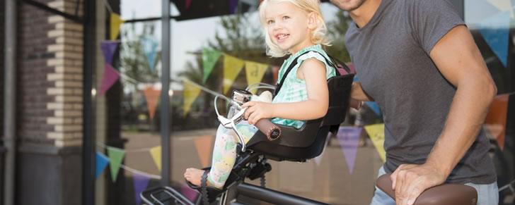 Bobike Classic mini fietszitje zwart in Top 10 Beste fietsstoeltjes voor