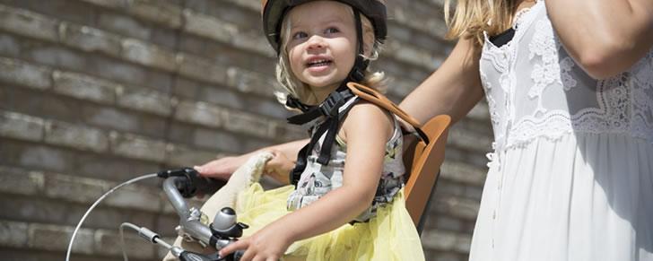 Bobike ONE mini fietszitje bruin in Top 10 Beste fietsstoeltjes voor