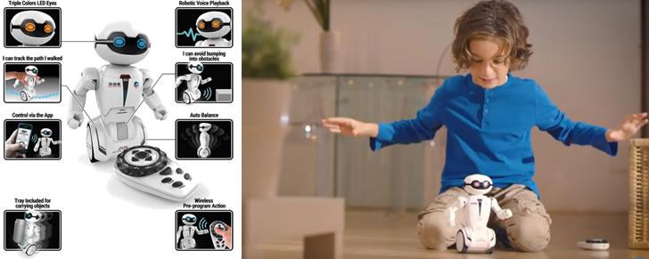 cadeau tip kleuters 4 - 6 jaar Silverlit MacroBot robot