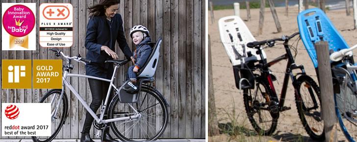 GMG Yepp Maxi en opvolger Thule Yepp Nexxt Maxi fietsstoeltje in Top 10 Beste fietszitjes achter