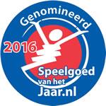 Genomineerd Speelgoed van het Jaar 2016 logo