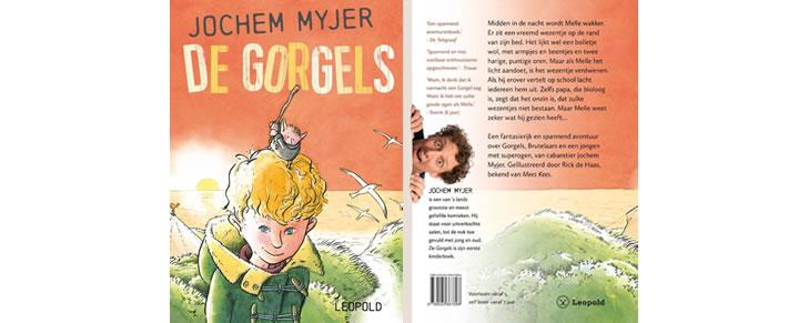Kaft van het boek De Gorgels van Jochem Meyer in Top 10 Beste cadeaus kinderen 2017