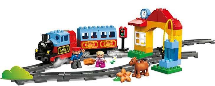 Voorbeeld LEGO DUPLO Mijn eerste treinset in Top 10 Beste cadeaus 2017 jongens en meisjes 2,5 - 4 jaar