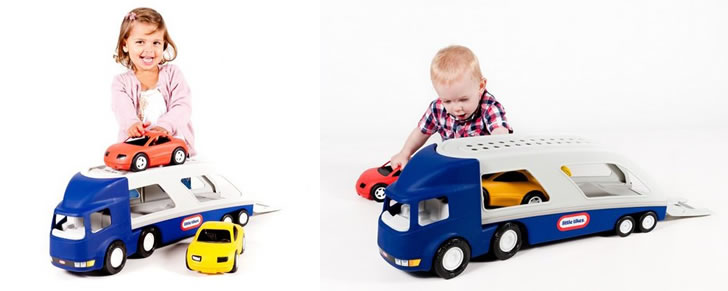 Little Tikes grote vrachtauto voertuig cadeau tip peuters