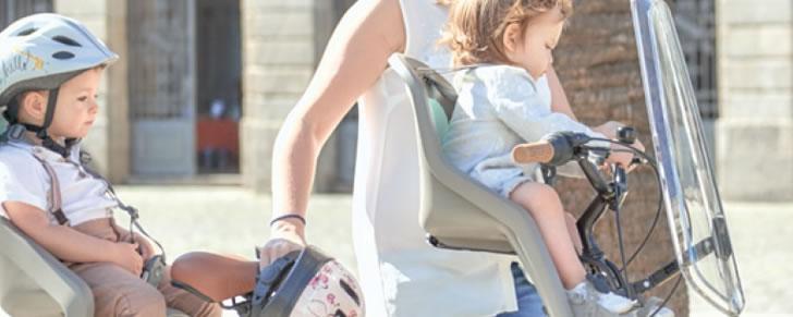 Polisport Bubbly Mini voorzitje in Top 10 Beste fietsstoeltjes voor