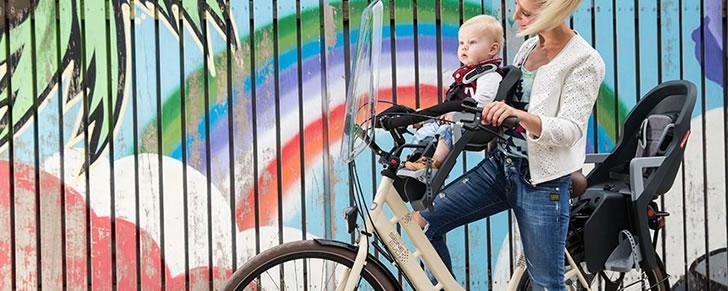 Polisport Guppy Mini voorzitje in Top 10 Beste fietsstoeltjes voor