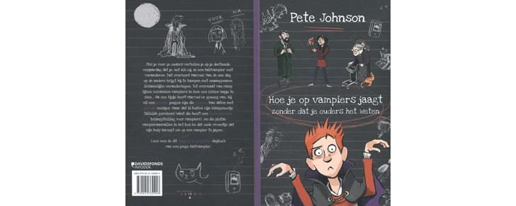 Kaft van het boek Hoe je op vampiers jaagt van Pete Johnson in Top 10 Beste cadeaus tieners 2017