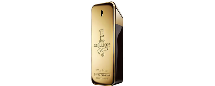 Top 10 beste herengeuren 2017 Paco Rabanne One million Eau de Toilette