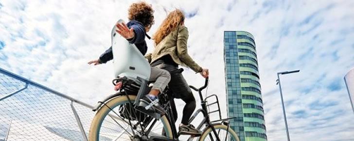 Urban Iki Rear achter fietsstoeltjes diverse kleuren in Top 10 Beste fietszitjes achter