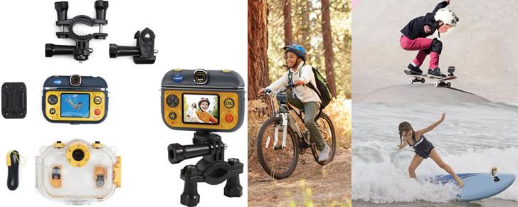 Voorbeelden VTech Kidizoom Action Cam 180° in Top 10 Beste cadeaus kinderen 2017