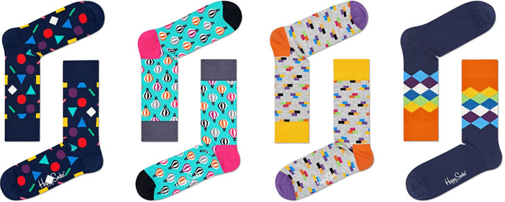 Happy Socks In Top 10 Beste Cadeautjes 10 Euro Volwassenen