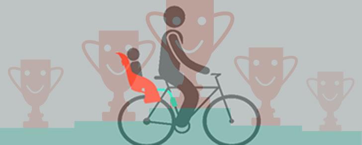 Selectie Top 10 Beste fietszitjes achter