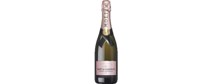 top10 beste champagnes 2017 Moët & Chandon Brut Rosé Impérial 75CL