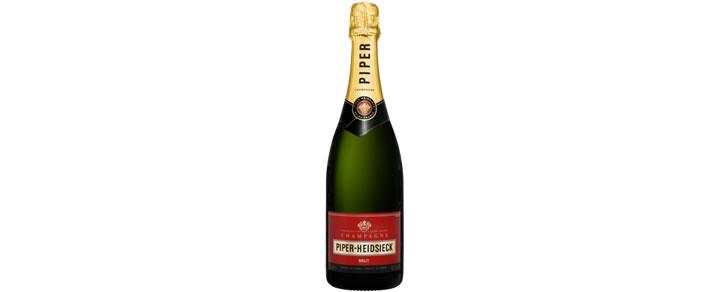 Top 10 beste champagnes 2017 Piper Heidsieck Brut 75CL