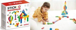 Magnetisch speelgoed Stick-O Basisset 30 delig in Top 10 Beste cadeaus peuters