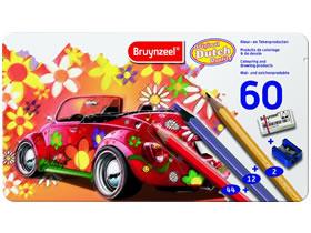 Creatief speelgoed kleuters: kleurpotloden van Bruynzeel