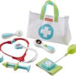 Rollenspel speelgoed peuters doktertje spelen met een speelgoed doktersset