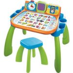 interactief speelgoed peuters VTech Mijn Magisch Bureau 3 in 1