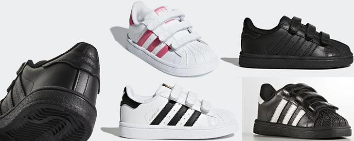 Adidas Originals Superstar maat 19 tot 27 in Top 10 Beste Babyschoenen en -sneakers harde zool