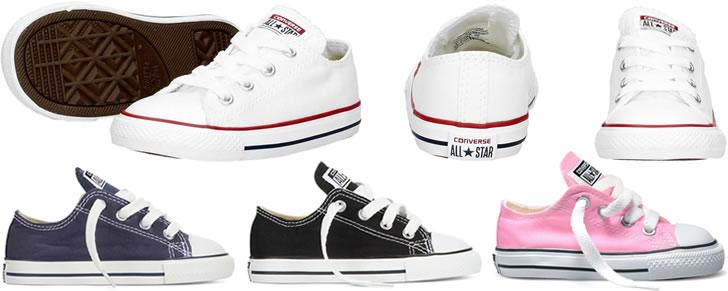 Converse Chuck Taylor All Star Classic Baby Peuter maat 18 tot 26 in Top 10 Beste Babyschoenen en -sneakers harde zool