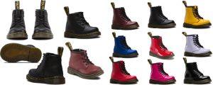 Dr. Martens 1460 Baby en Peuter maat 19 - 21.5 en 22 - 27 in Top 10 Beste Babyschoenen en -sneakers harde zool