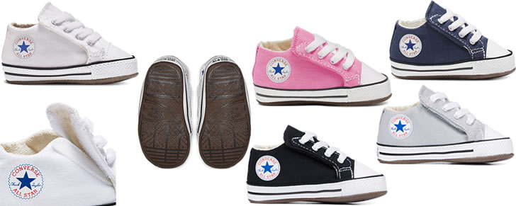Converse Chuck Taylor All Star Cribster maat 17 - 20 in Top 10 Beste babyschoenen zachte zool