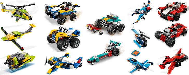 LEGO Creator 3 in 1 voertuig kopen