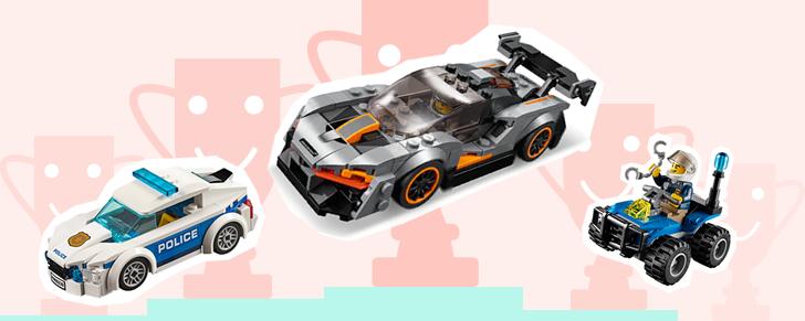 Selectie Top 10 Beste jongens LEGO € 10